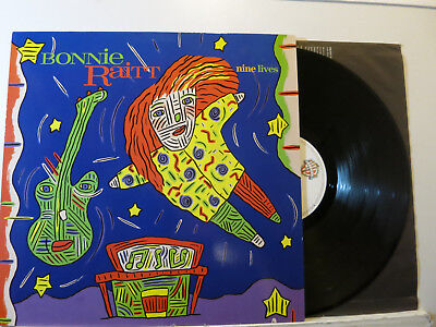 Bonnie Raitt - Nine Lifes - Blues Rock LP + Innersleeve 1986 WB Germany NMint