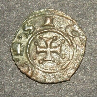 Crusader Iron Cross Antique Coin 1100-1300 Europe Medieval Ancient Templar H Lot