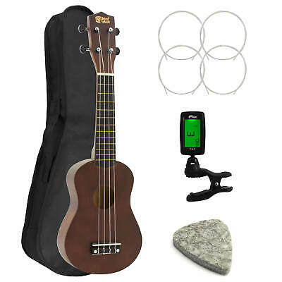 Childrens Soprano Ukulele in Natural Kit - Beginners Pack