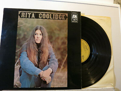 Rita Coolidge - s/T - Folk Rock LP w/ Ry Cooder/Booker T. 1971 brown A&M D NMint