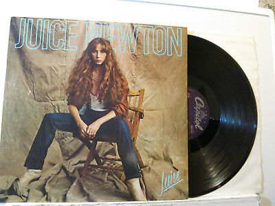 Juice Newton - Juice - Folk Rock LP + Archive Date Stamp 1981 Capitol Germany NM