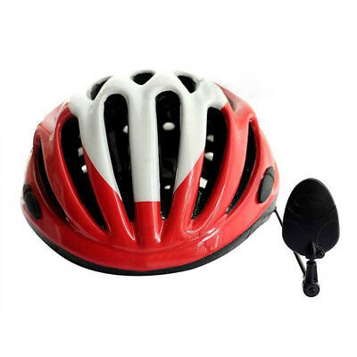 Univesal Bike Helmet Mirrors Adjustable Bicycle Safety Cycling  Rear View Mirror