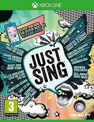 just sing xbox one pal new&sealed