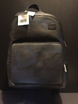 7d08f072a5ec JACK SPADE LEATHER Dots Backpack Army Green Amazing New NWT NYRU2636 ...