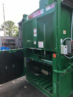 Philly Tramrail Baler in baler, cardboard,clothing,aluminum,paper,scrap metal