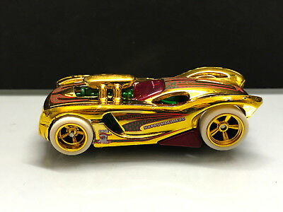 2017 Hot Wheels Super Treasure Hunt STH > '16 Angels Happy Holiday, Gold Loose