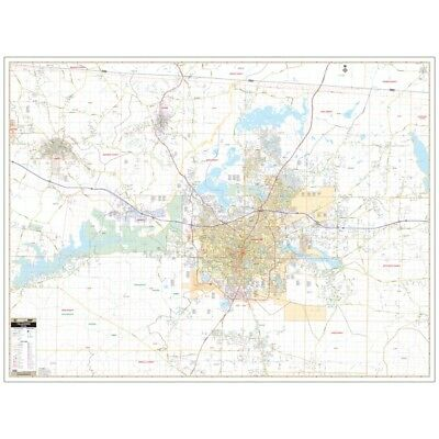 Tallahassee and Leon Co., FL Wall Map
