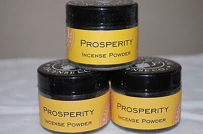 Prosperity Traditional Powder Incense Powder, Metaphysical  20 Grams (1)  Jar