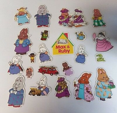 Max & Ruby Small Magnets