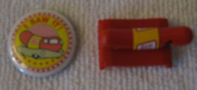 """Oscar Mayer Wienermobile Whistle And """"i Saw It"""" Pin"""