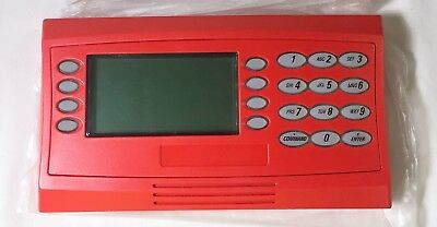 New IOB Bosch #D1260R Security ATM System Red LCD Keypad for G Series Panels