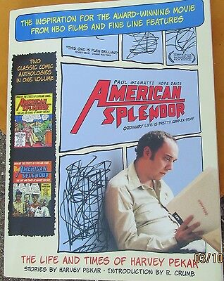 Book -American Splendor: The Life and Times of Harvey Pekar     2003