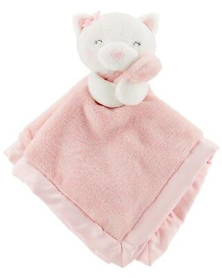 New Carter's Snuggle Buddy Kitty Cat Pink Security Blanket Soft Cute NWT Girl