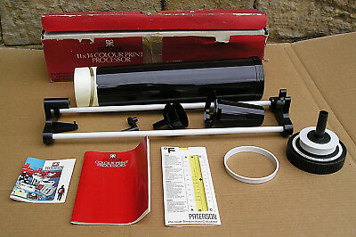 Vintage Paterson 11 x 14 Colour Print Processor - Photographic Darkroom Film
