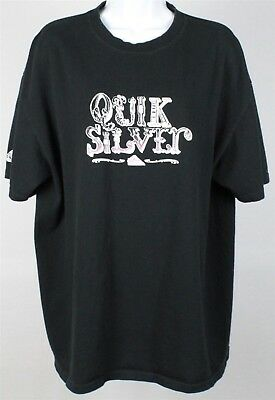 b8535308c QUIKSILVER MEN'S T-SHIRT Grey Vinted Quality Tee Size XL - $12.60 ...