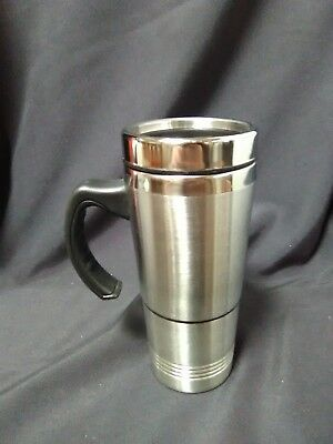 Stainless Steel Coffee Mug Stash Container Diversion Safe Hidden Home Security
