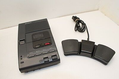 Sony Microcassette Player Recorder Transcriber M - 2000
