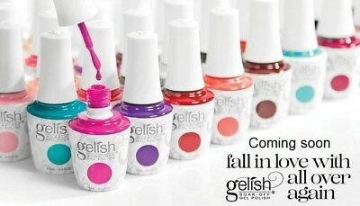 Gelish HARMONY GEL POLISH Only ! ALL COLORS ! Get your favourite colors in 3days