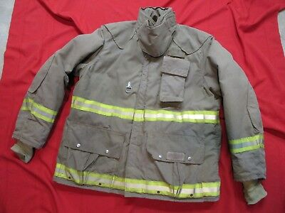 2003 fyrepelFirefighter Bunker Turnout jacket 46-48 x 36  thermal liner GEAR