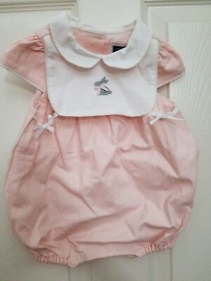 janie and jack layette girl 3 to 6 months pink bubble