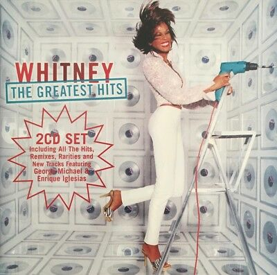 Whitney Houston - Whitney The Greatest Hits - Arista 2CD Set 2000 Australia