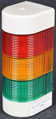 PatLite WME-FB Wall Mountable Green Yellow Red Signal Tower Safety Alarm Light