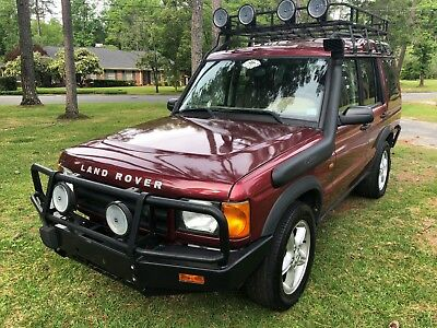 2001 Land Rover Discovery Off Road
