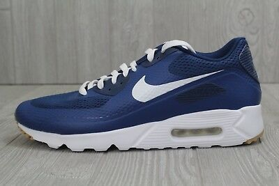 watch ae777 3f7c8 30 NIKE AIR Max 90 Ultra Essential Blue Gum Shoes Men's Sz 8.5, 12  819474-402