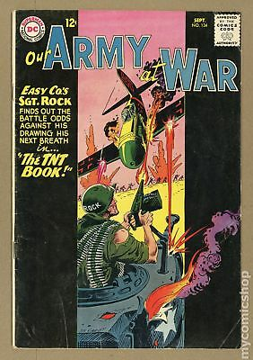 Our Army at War #134 1963 VG- 3.5