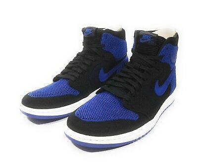 2f9f1a9e06947c Nike Air Jordan 1 Retro Hi Flyknit Mens Basketball Shoes Game Royal Size  11.5
