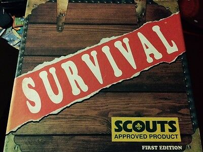 Survival. Scouts Approved Board game (1988)