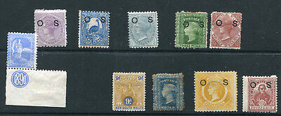 New South Wales 1860S/90S Selection Of Mint Issues X 10