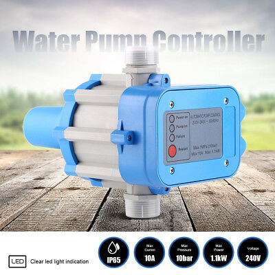 Automatic Water Pump Controller Pressure Switch Electric Electronic Control 10Ba
