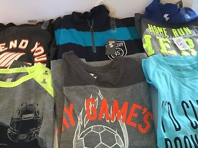 Boys 6  Pc Lot Of New Shirts  Size 7/8 The Childrens Place New With Tags