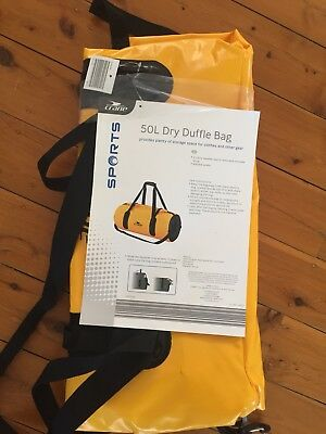 50L Dry Duffle Bag - For Boat Water Sports