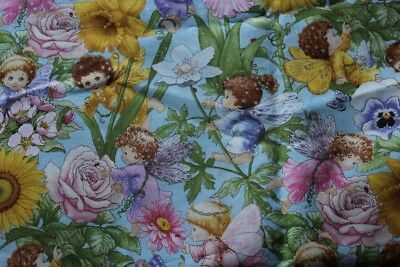 "1 Piece 90"" X 44""  ( 7Ft 6"" ) Baby Fairies Fabric"