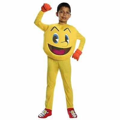 NEW Pac-Man and The Ghostly Adventures Kids size S 4/6 Deluxe Costume Outfit
