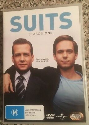 SUITS The Complete Season One 4 Disc Set – DVD
