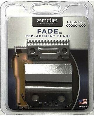 Andis Replacement Fade Blade Set For Cordless USPro Li Clipper (#66255)