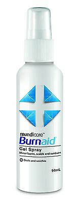 Burnaid Gel Spray 50ml SUNBURN RELIEF SPRAY #1 in Australia