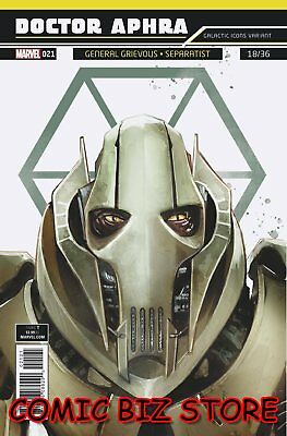 Star Wars Doctor Aphra #21 (2018) 1St Printing Reis Galactic Icon Variant Cover