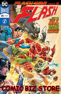 Flash #49 (2018) 1St Printing Dc Universe Bagged & Boarded