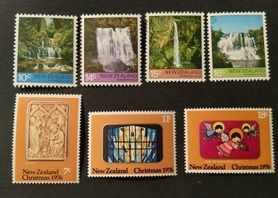 N. Zealand  1974 Health Stamps and 79 Resources of the Sea sets f16
