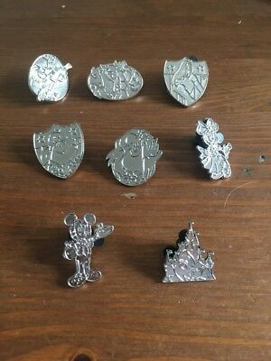Disney Trading Pins X 8 Hidden Mickey Chaser Pins. 8 Of 10.  (#73)