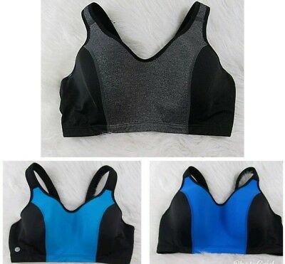 a4d33ab6d5 Livi Active Sport Bra Underwire Ligthly Padded Cup Adjustable Strap Plus  Size