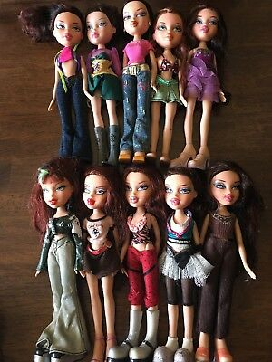 Bratz Lot of 10 Dolls includes i.Candy Candyz Yasmin, Phoebe and more