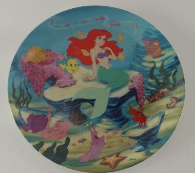 """Disney Collector Plates The Little Mermaid Movie ~ """"A Song From the Sea"""""""