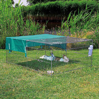 Trixie Net with Sun Protection for Rabbit Run To Fit Square Pet Playpen Cage PEN