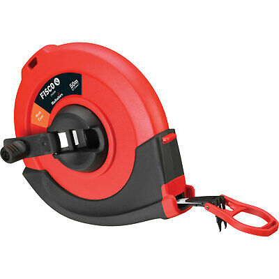 Fisco Steel Survey Tape Measure Metric 50m 13mm