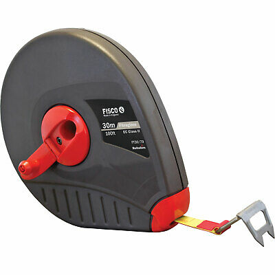 Fisco Futura Fibreglass Tape Measure Imperial & Metric 100ft / 30m 13mm